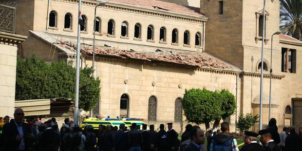 Le groupe Etat islamique revendique l'attentat dans l'église du Caire - La Libre