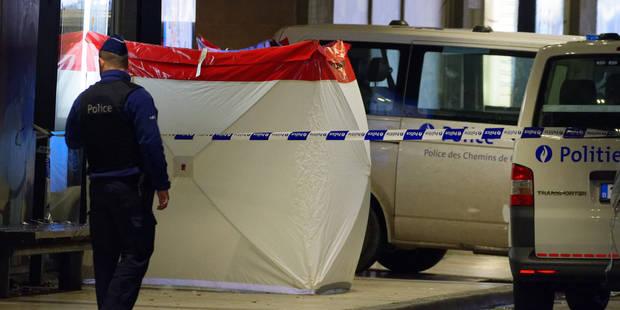 Bruxelles: un SDF retrouvé mort aux abords de la gare du Midi (PHOTOS) - La Libre