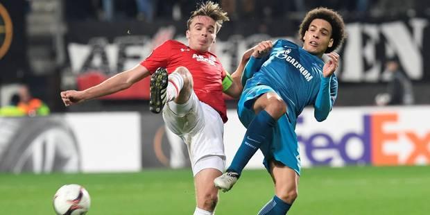Les deux joueurs qui pourraient empêcher l'arrivée de Witsel à la Juventus - La Libre