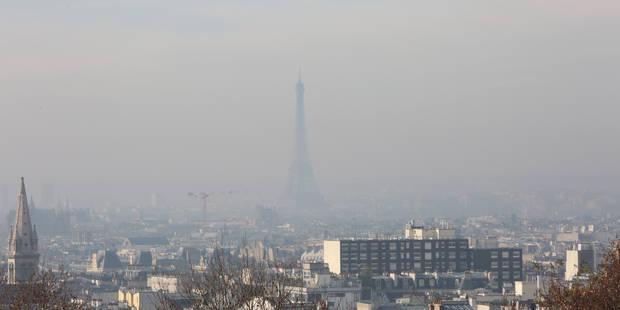Un pic de pollution vu du ciel - La Libre