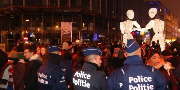Un réveillon du Nouvel An festif et sans incident à Bruxelles - La Libre