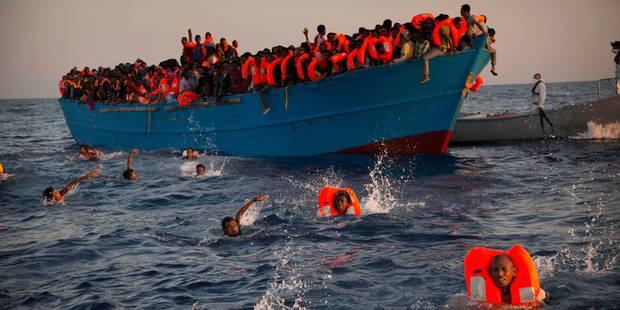 Migrants: l'ONG SOS Méditerranée tire la sonnette d'alarme - La Libre