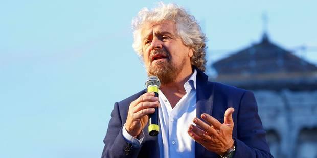UE: Beppe Grillo veut changer de groupe au Parlement européen - La Libre