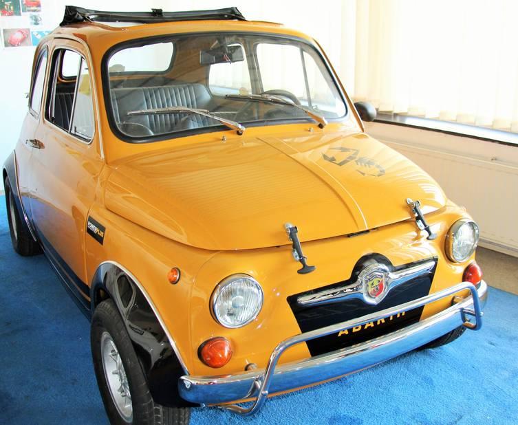 Cette Fiat Abarth 595 SS Competizione a été construite à 21 exemplaires.