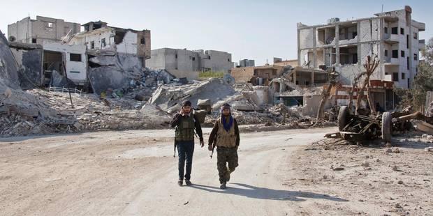 L'amorce d'une solution politique au conflit en Syrie - La Libre