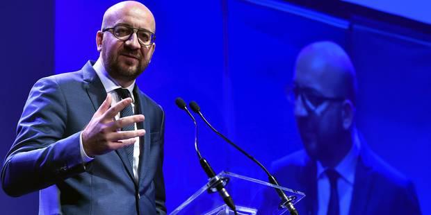 """Charles Michel: """"Ne pas laisser les populistes faire de l'Europe le punching-ball de leurs simplismes"""" - La Libre"""