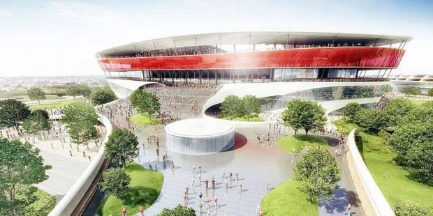 Voici pourquoi la Flandre pourrait encore retarder le début du chantier du stade national - La Libre