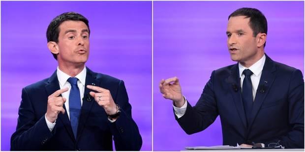 """""""Un débat pointu, pas un pugilat"""": voici tout ce qu'il faut retenir du débat entre Valls et Hamon - La Libre"""