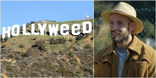 """Zachary Cole Fernandez, l'homme qui se cache derrière le signe """"Hollyweed"""" (VIDEO) - La Libre"""