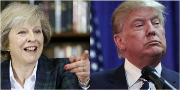 Quand l'équipe de Donald Trump confond Theresa May avec... une actrice de films pour adultes - La Libre