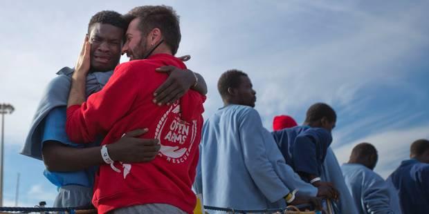 1.500 migrants secourus en Méditerranée ce week-end, 4.500 depuis mercredi - La Libre
