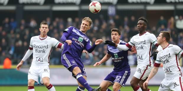 Après un match rythmé, Anderlecht met la pression sur Bruges et prend ses distances avec Zulte (4-2) - La Libre