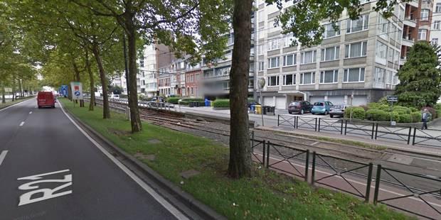 Ivre, un automobiliste emprunte un tunnel de tram à Schaerbeek - La Libre