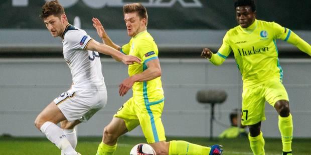 C2: La Gantoise croit en son exploit en battant Tottenham (1-0), Genk prend une option avec son nul à Astra (2-2) - La L...