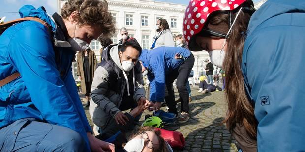 Les Bruxellois unis contre la pollution de l'air - La Libre