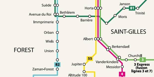 Voici le projet alternatif d'Ecolo au métro à Albert (INFOGRAPHIE) - La Libre