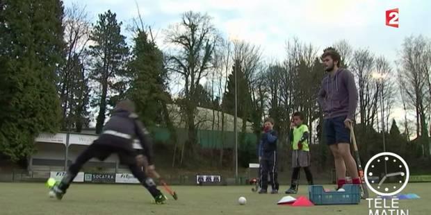 """France 2 vante le """"vrai engouement"""" autour du hockey en Belgique (VIDEO) - La Libre"""