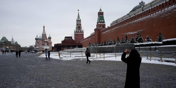 Un Reichstag miniature aux postes de Moscou - La Libre