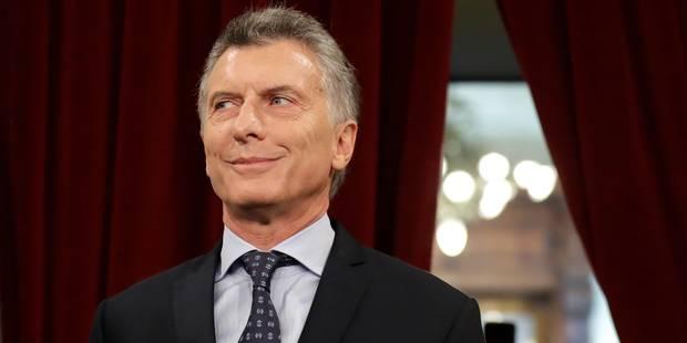 Le président argentin inquiété par une enquête pour conflit d'intérêts - La Libre