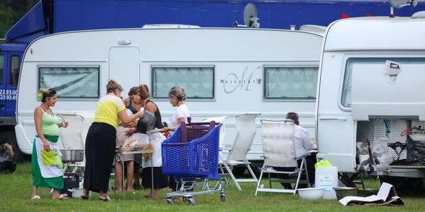 Namur : Le terrain d'accueil des gens du voyage ouvre - La Libre