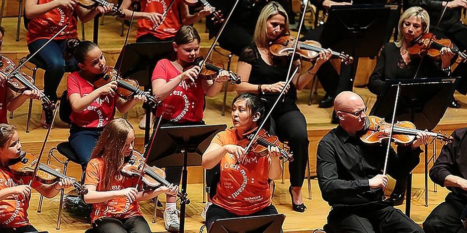 Liège : L'inclusion sociale par la musique - La Libre