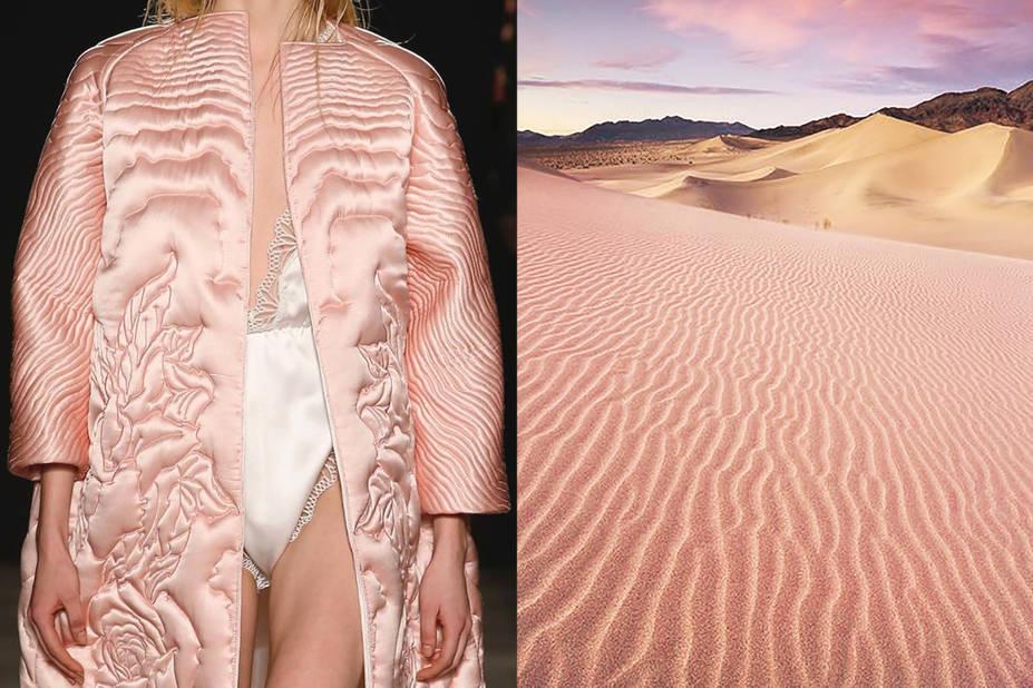 Francesco Scognamiglio Automne 2015 - Coucher de soleil dans le désert
