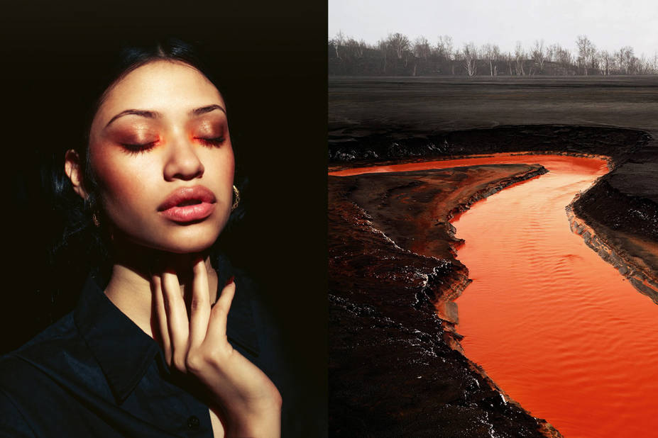 Whitney Olson makeup -  Taillings (série), Edward Burtynsky