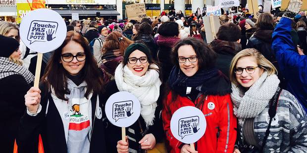 98% des femmes victimes de harcèlement de rue - La Libre