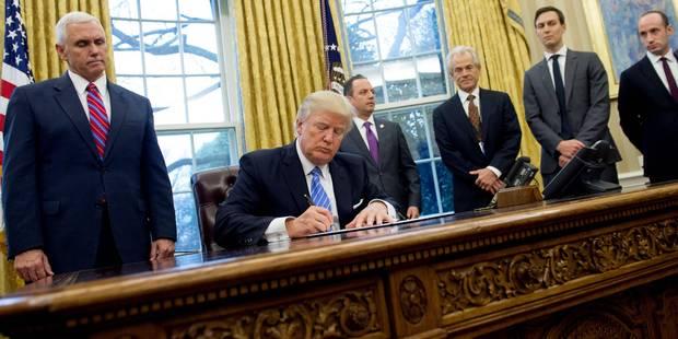 Trump a signé son nouveau décret migratoire: l'Irak exempté - La Libre