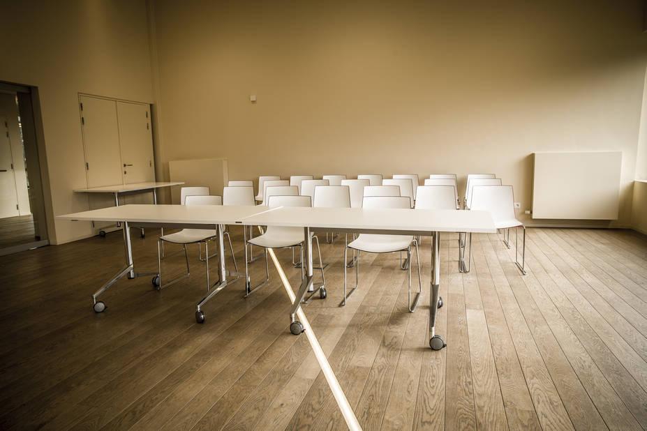 A Baarle, on peut même passer la frontière dans la salle de classe, idéal quand on n'a révisé sa leçon et qu'on veut sécher l'interro.