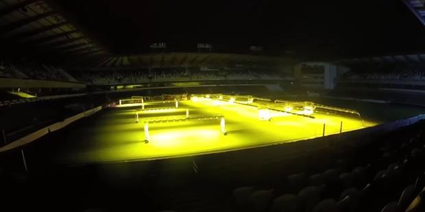 En pleine nuit, des jeunes parviennent à s'infiltrer dans le stade d'Anderlecht (Vidéo) - La Libre