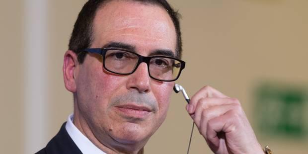 """Steven Mnuchin, ex-""""Goldman Boy"""" décomplexé au Trésor américain - La Libre"""