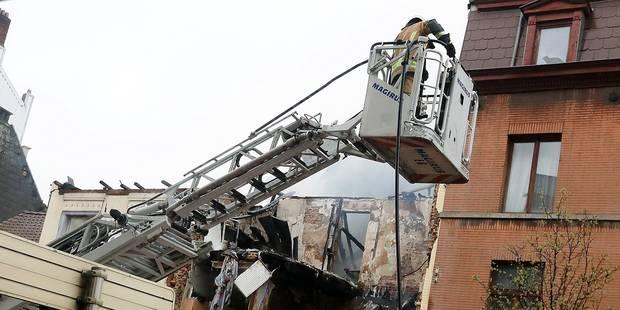 """Immeuble effondré à Saint-Gilles : """"J'ai d'abord cru à une bombe"""" - La Libre"""