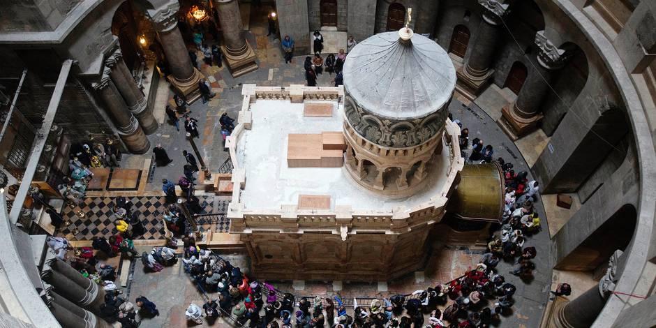 Le tombeau du Christ à Jérusalem enfin restauré (REPORTAGE) - La Libre