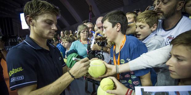 Le tournoi de tennis de Mons sacré meilleur challenger du monde pour la troisième fois ! - La Libre