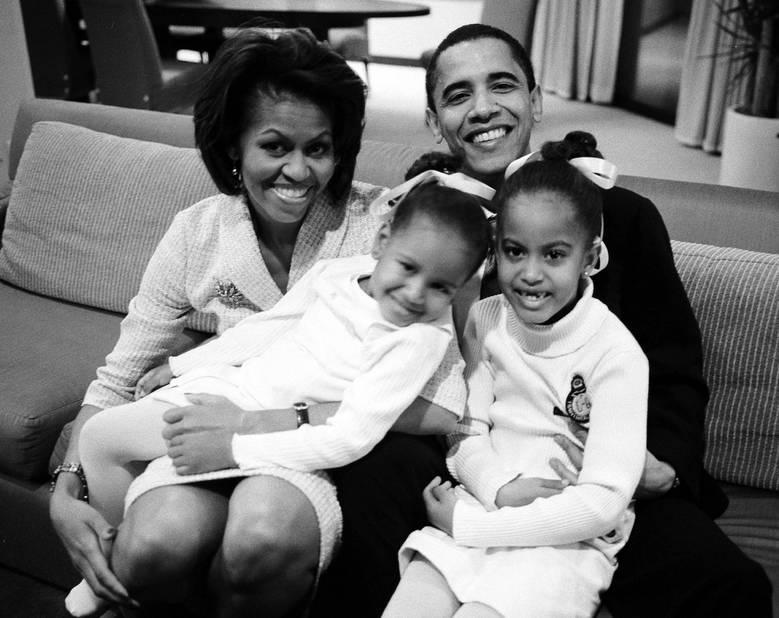 Famille. En 2007 quand Barack Obama n'était
