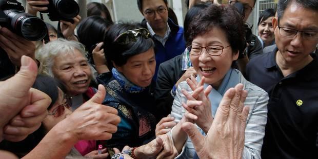 La favorite de Pékin désignée chef du gouvernement de Hong Kong - La Libre
