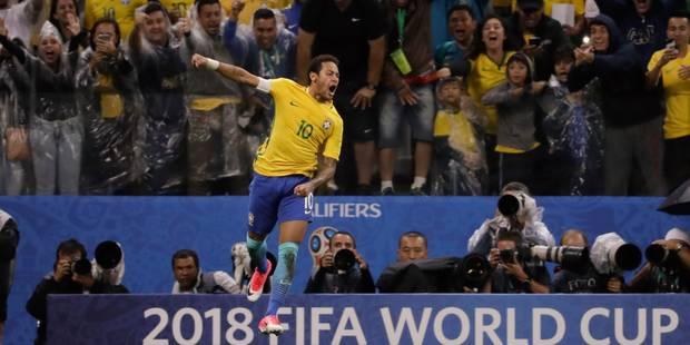 """Le """"but à la Messi"""" de Neymar face au Paraguay (VIDEO) - La Libre"""