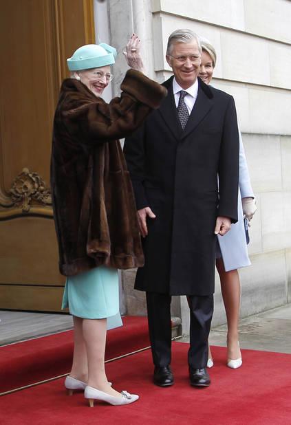 Un petit vison pour la reine Margrethe