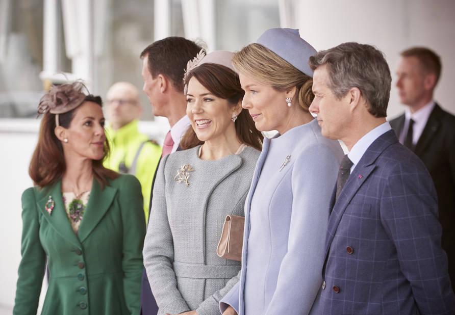 Photos officielle au palais danois.