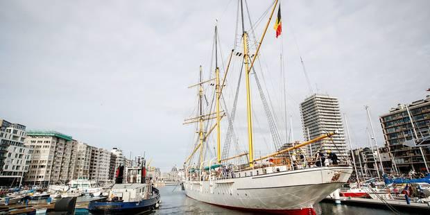 Le Mercator est définitivement rentré au port à Ostende - La Libre