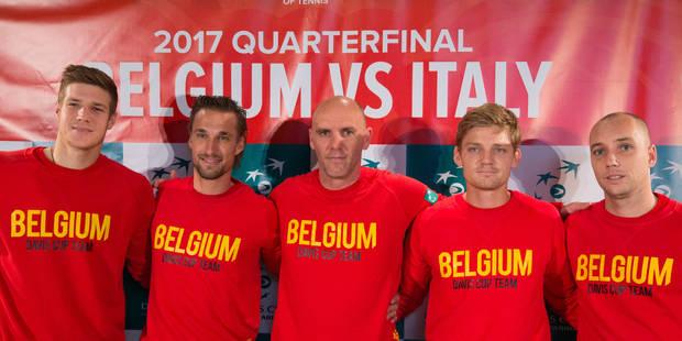 Coupe Davis: Belgique-Italie: découvrez les réactions des joueurs belges - La Libre