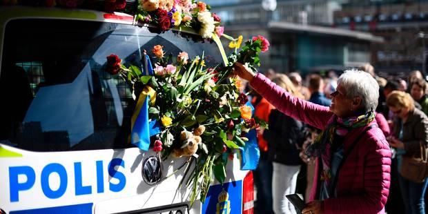 Attentat de Stockholm: Un deuxième suspect interpellé - La Libre