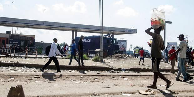 Kinshasa avait des allures de ville morte malgré l'appel à marcher - La Libre