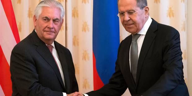 """""""Faible niveau de confiance"""" entre la Russie et les USA selon Tillerson - La Libre"""