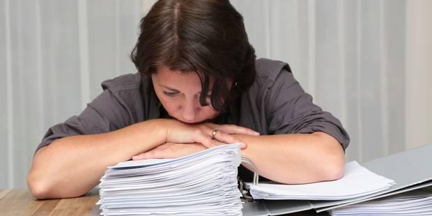 En cas de burn-out, la N-VA propose de... travailler ailleurs - La Libre