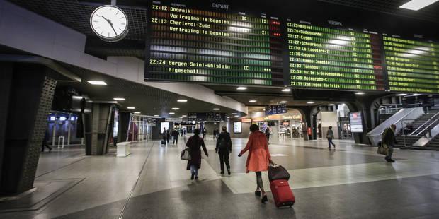 La jonction des trains entre Bruxelles-Nord et Midi fermée ce 1er mai: Voici ce qu'a prévu la SNCB - La Libre