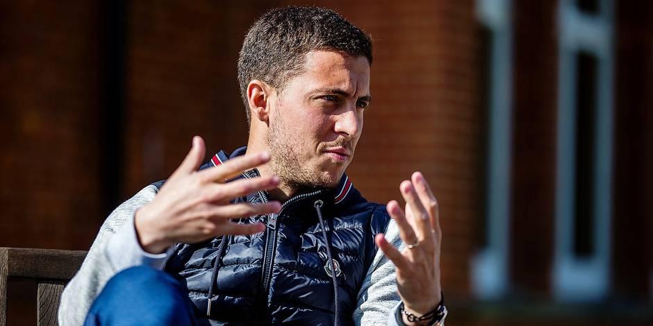 """Eden Hazard veut """"gagner la Coupe du monde avec Kompany"""" - La Libre"""