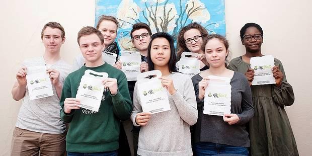 Forest: Poubelle pour voiture pensée par des étudiants - La Libre
