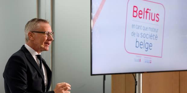 Une vingtaine d'organisations s'opposent à la privatisation de Belfius - La Libre
